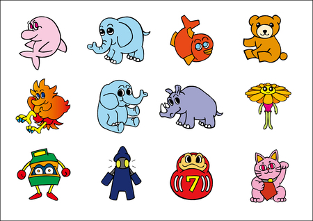 vector animal and other charactors #1 Vector