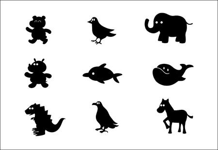 ベクトルの動物やその他の文字 #2