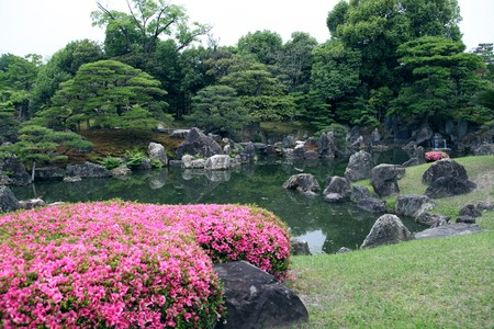 Japanese landscape garden Stock Photo - 7154327