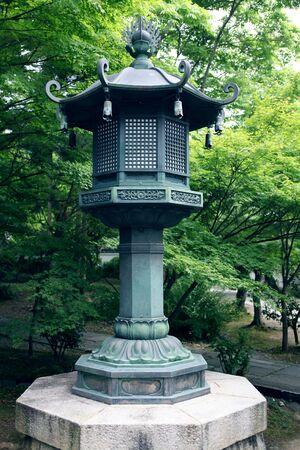a garden lantern