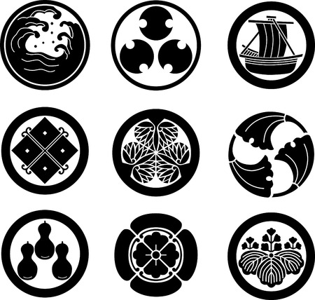 crests: Stemmi di famiglia giapponese
