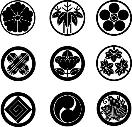 comma: Japanese Family Crests