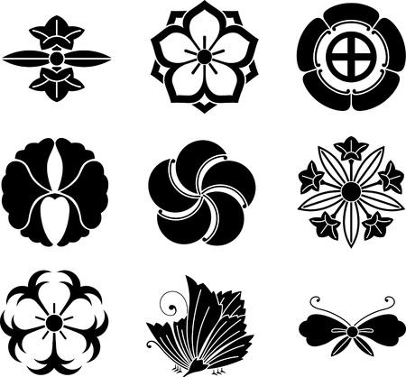 Japanse familie Crests