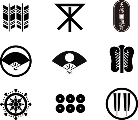 japanese family: Japanese Family Crests