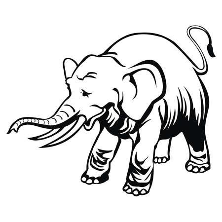 black history: elephant
