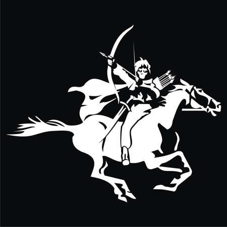 Horseman - archer