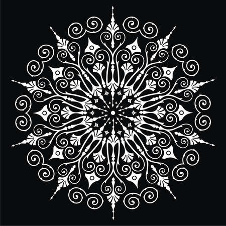 lace pattern: ornament