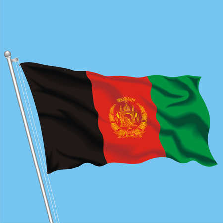 Developing flag of Afghanistan