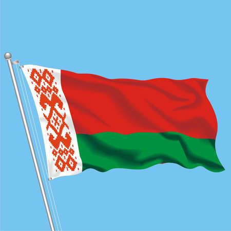 Developing flag of Belarus