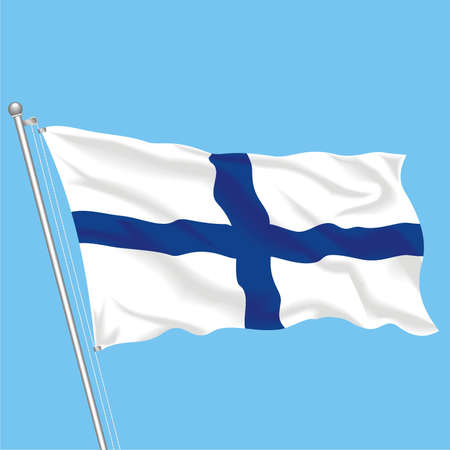 Developing flag of Finland