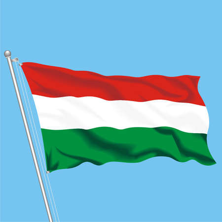 Developing flag of Hungary