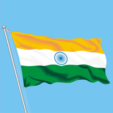 Developing flag of India