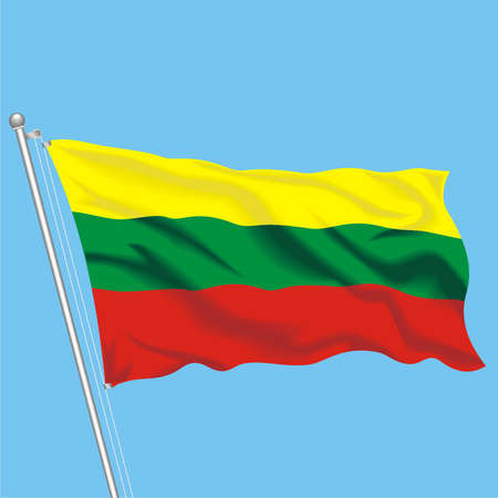 Developing flag of Lithuania