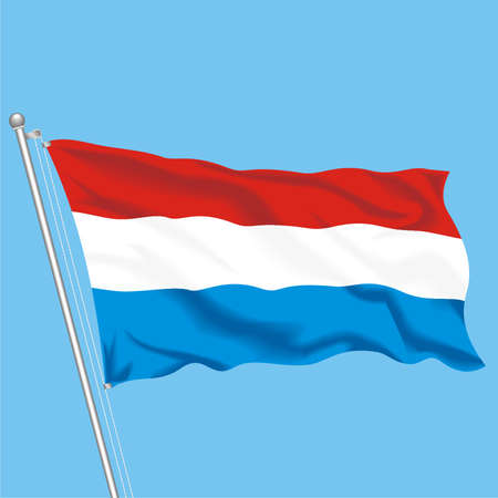 Developing flag of Luxembourg