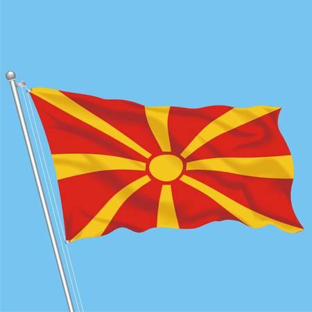 Developing flag of Macedonia