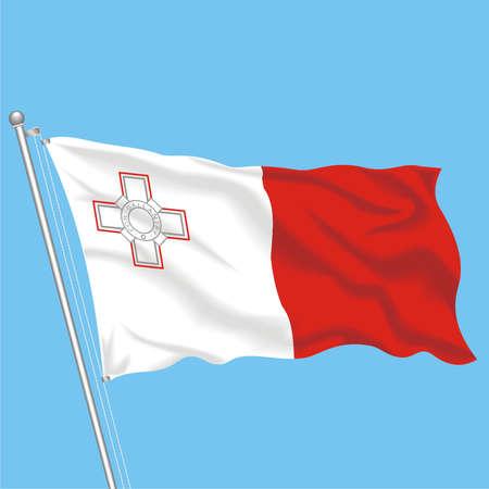 Developing flag of Malta