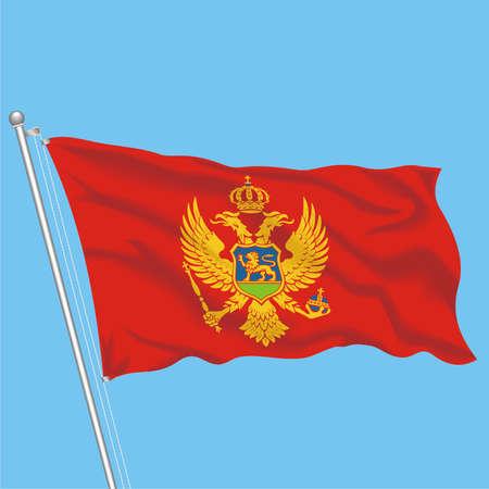 Developing flag of Montenegro