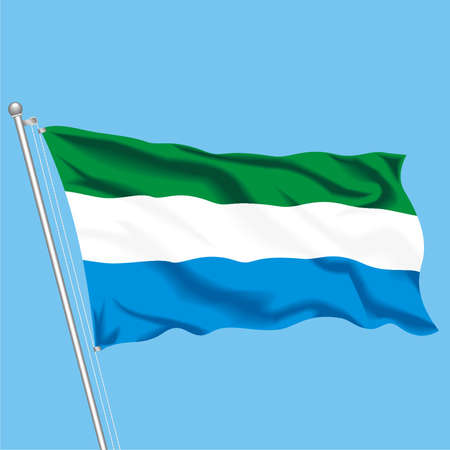 Developing flag of Sierra Leone