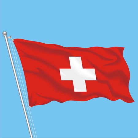 Developing flag of Switzerland