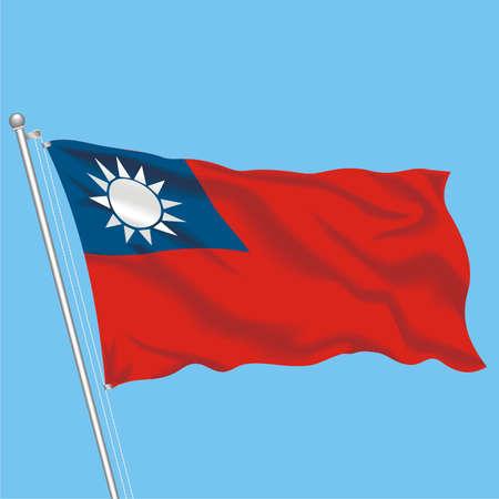 Developing flag of Taiwan