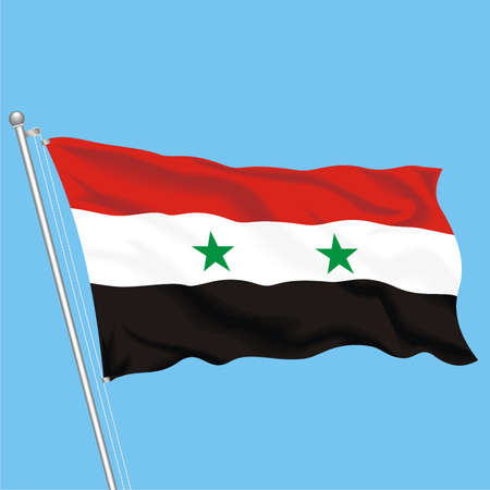 Developing flag of Syria