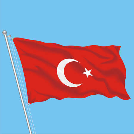 Developing flag of Turkey