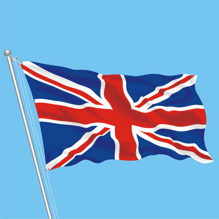 Developing flag of United Kingdom
