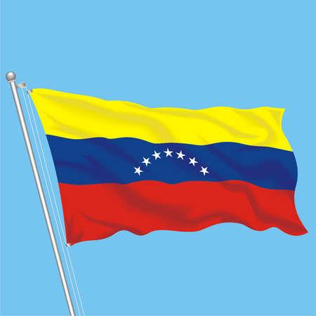 Developing flag of Venezuela Stock Vector - 79581971