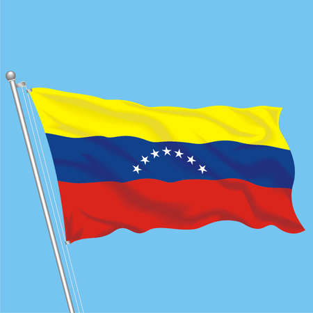 Developing flag of Venezuela