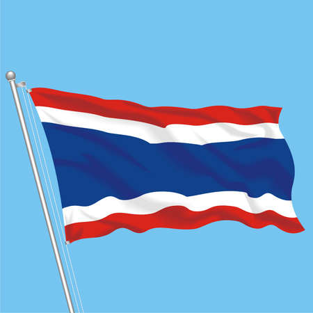Developing flag of Thailand
