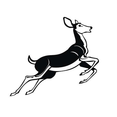 gazelle Stock Vector - 80572269