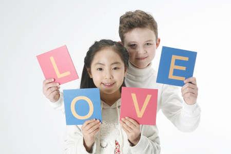Global childrean's photo image Stock Photo - 10186810
