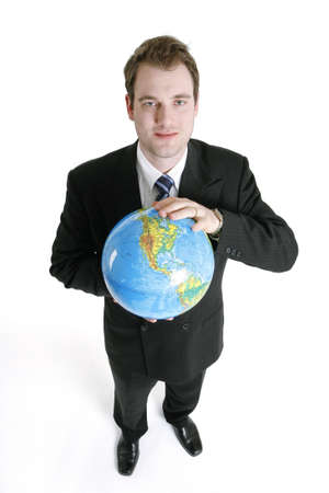 Global Business Stock Photo - 10189886