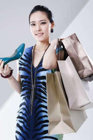 Women's lifestyle & shopping Stock Photo - 10210415