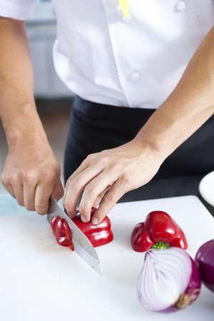 Chef patissier (life kitchen) Stock Photo - 10211343