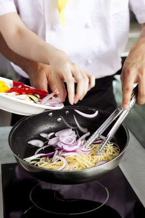 Chef patissier (life kitchen) Stock Photo - 10211346