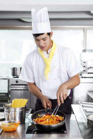 Chef patissier (life kitchen) Stock Photo - 10211349