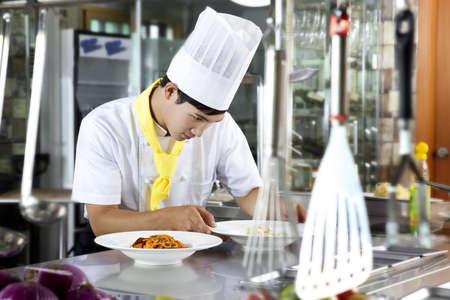 Chef patissier (life kitchen) Stock Photo - 10211360