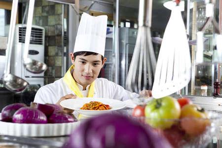 Chef patissier (life kitchen) Stock Photo - 10211361