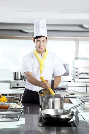 Chef patissier (life kitchen)  Stock Photo - 10211371