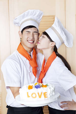 Chef patissier (life kitchen) Stock Photo - 10211372