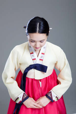 Korean traditional costumes in Holidays LANG_EVOIMAGES