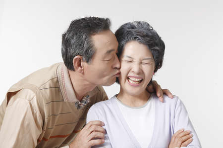 The Image of Old couple Stock Photo - 10211500
