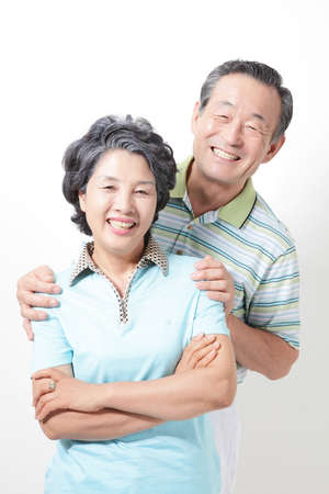 OLD COUPLE Stock Photo - 10211534