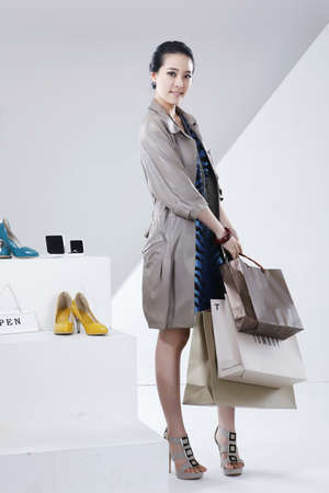 the destined duration of life: Womens lifestyle during the winter shopping season  LANG_EVOIMAGES
