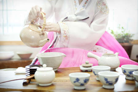 Traditional tea ceremony Stock Photo - 10212292