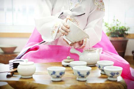 Traditional tea ceremony Stock Photo - 10212293