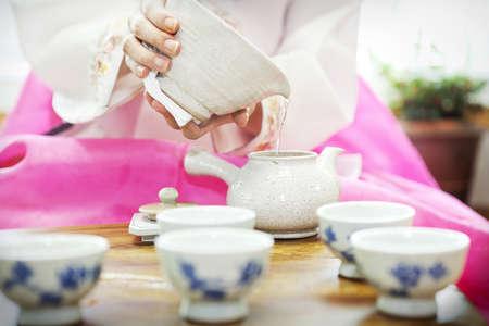 Traditional tea ceremony Stock Photo - 10212294