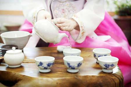 Traditional tea ceremony Stock Photo - 10212297