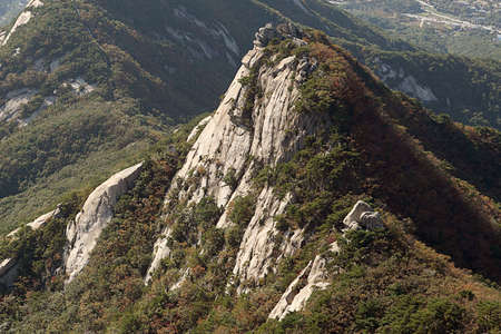 Korean Mountain (Bukhansan)  Stock Photo - 10230697